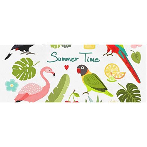 Summer Watermelon Bird Flamingo Papel de regalo de Halloween 58 x 23 pulgadas 2 rollos Papel de regalo de boda Papel de regalo de boda para el día de la madre Pascua Bodas Cumpleaños o cualquier ocas