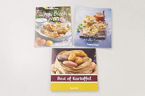 Tupperware Kochbuch Einfach mit Allen Extras+Best of Kartoffel+Vom Blech Weg