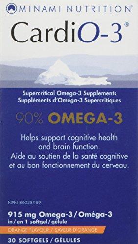 Minami Nutrition CardiO-3 90% Omega-3 30 Cápsulas blandas 30 g