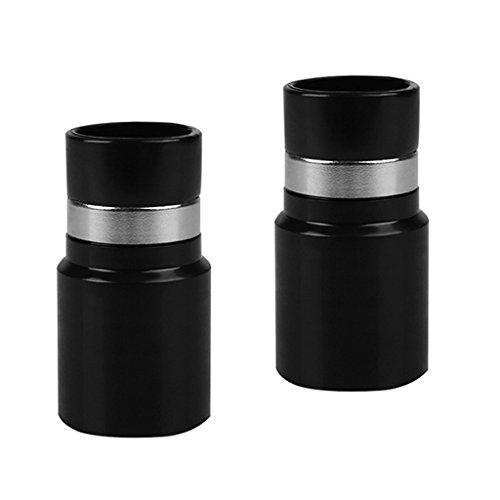 Sharplace 2pcs Adaptateur de Tuyau Universel Diamètre Intérieur 32mm Accessoires Aspirateur