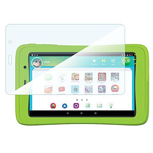 KARYLAX - Protector de pantalla de cristal flexible 100% transparente para tablet infantil Gulli Kurio Connect 2