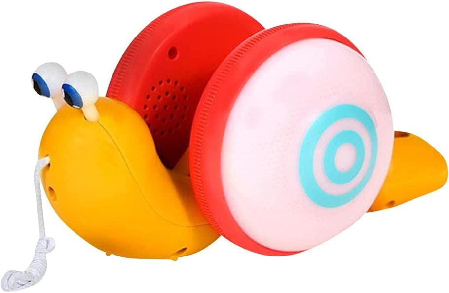 Snail Pull Toy Leashing Large-scale sale Gorgeous Snails Toddler Push Toys Machine