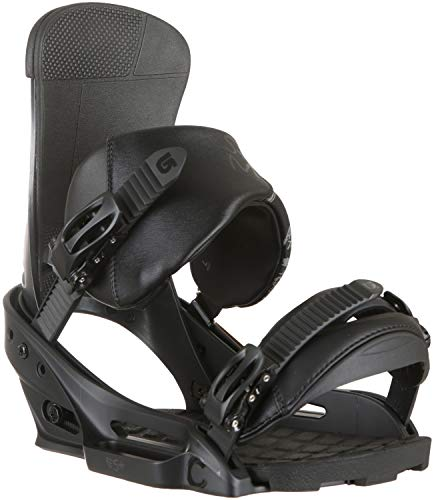 Burton Herren Custom Snowboardbindung, Black Matte, M