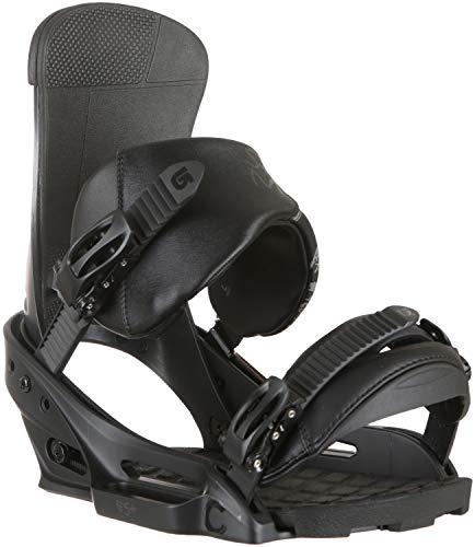 Burton Herren Custom Snowboardbindung, Black Matte, S
