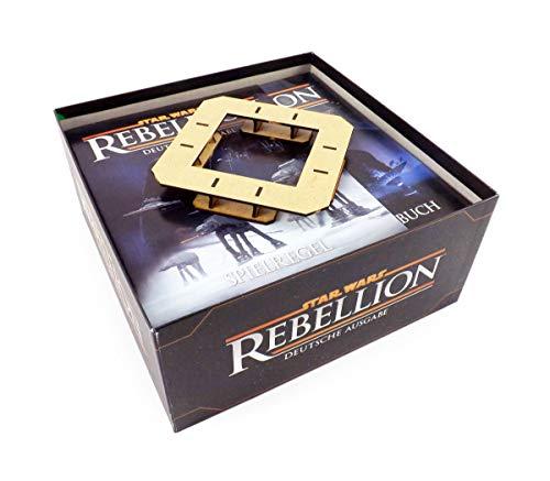 Feldherr Brettspiel Organizer kompatibel mit Star Wars: Rebellion undErweiterung Aufstieg des Imperiums