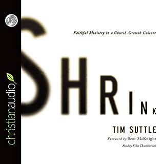 Shrink audiobook cover art