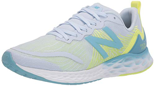 New Balance Women's Fresh Foam Tempo V1 Running Shoe, Moon Dust/Lemon Slush, 10.5 Wide