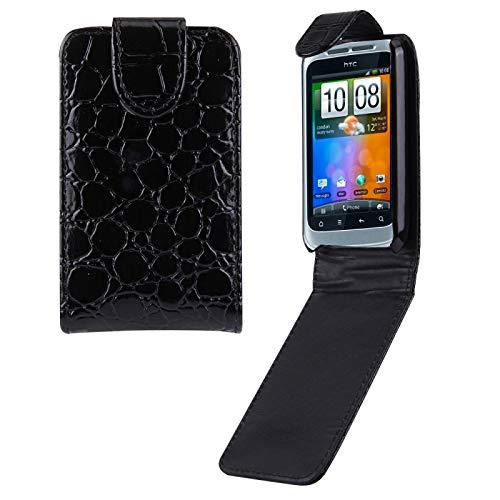 Liaoxig Carcasa de telefono Funda de Cuero HTC Wildfire S / G13 Carcasa de telefono