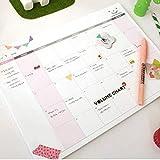 Shager - Agenda y organizador semanal y mensual (A4, organizador diario, diario personal (29 x 21 cm), color monthly 29*21CM