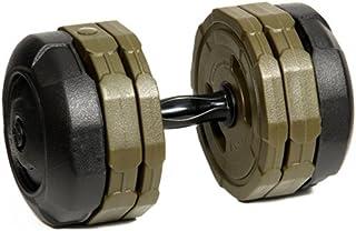 アーミーダンベル 20kg 単品 LEDB-20 シリーズ 絶対 錆びない ダンベル ウェイト トレーニング 筋トレ 片手 20kg 傷防止 …
