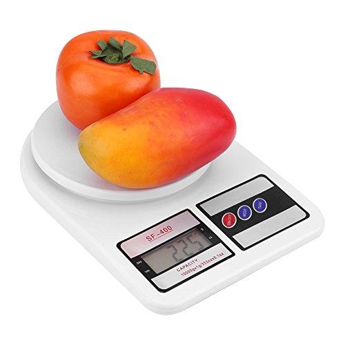 Báscula Digital para Cocina Escala de Alimentos portátil 0.1g a 10kg Escala...