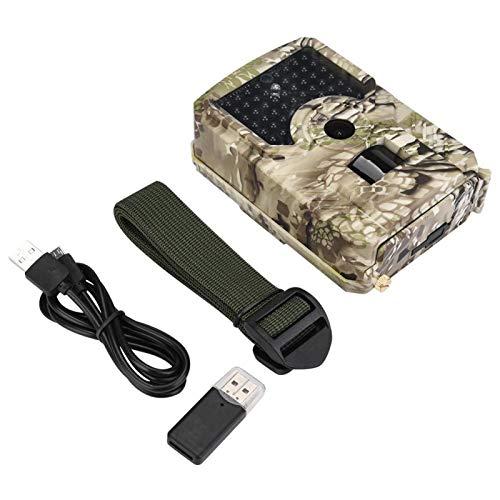 Videocámara Trail Construcción duradera y de plástico Vida salvaje 1080P HD Video y 12MP Photo, para caza y observación de animales