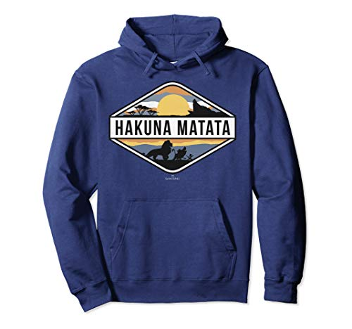 Disney Lion King Hakuna Matata Sunset Hoodie