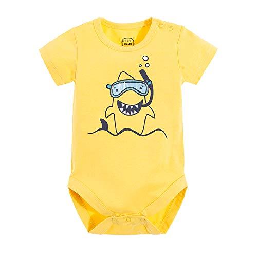 Cool Club Baby Body Kurzer Arm für Jungen