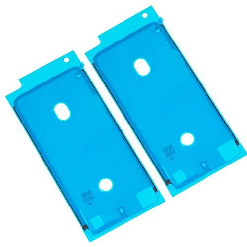 Ewparts 2 Piezas LCD Display Frame Impermeable Etiqueta Adhesiva de Cinta para iPhone 7 (Blanco)