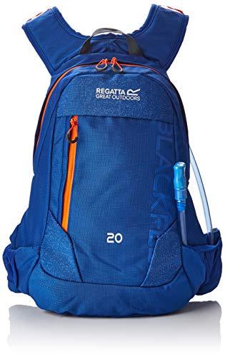 Regatta Blackfell III Reflective Hardwearing Hydration Backpack - Surfspray/Blaze, 20 Litre