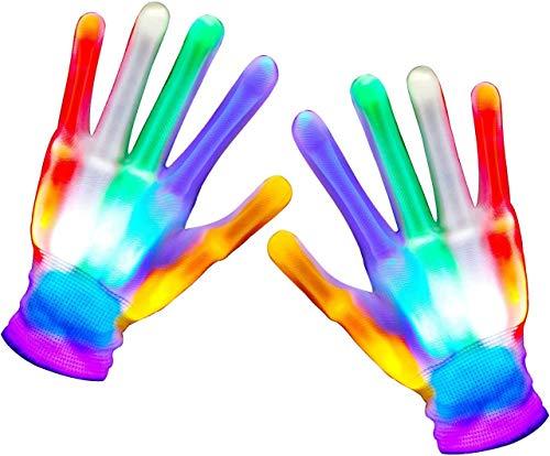 ATOPDREAM Weihnachts Geschenke für Jungs 3-12 Jahre, LED Handschuhe Halloween Party Spielzeug ab 12 13 14 15 16 Halloween Partyartikel Geschenke für Jugendliche Jungen Geschenke 3-12 Jahre