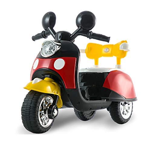 HE-XSHDTT Triciclo para niños, niños pequeños, Triciclo para Cochecito, Triciclo para niños de 2 3 4 5 años, niñas, Interiores y Exteriores,Rojo