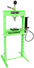 OEMTOOLS 25087 Air Hydraulic 20 Ton Shop Press with Double Speed Pump