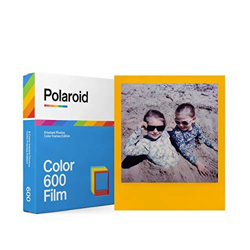 Polaroid 6015 - Pellicola istantanea Fabre fûr 600 e i-Type - Cornice colorata