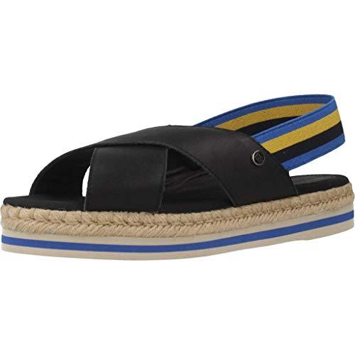 Tommy Hilfiger Sandalen/Sandaletten, Farbe Blau, Marke, Modell Sandalen/Sandaletten FW0FW04060 Blau