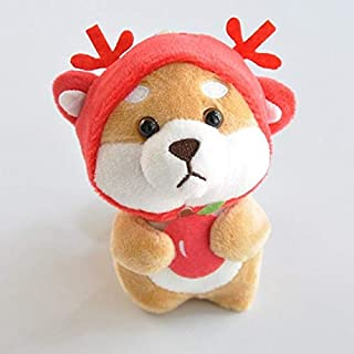 PUNIDAMAN I Stuffed Animals Shiba Inu 12 Chinese Zodiac Dress Up Plush Toys Cute Cartoon Plush Animal Dog Doll Kid Toys Toddler Must Haves Gift Bags Toddler Favourite Toddler Superhero UNbox Me
