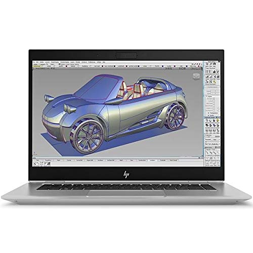 HP ZBook Studio G5 Mobile Workstation, Grey, Intel Core i9-9880H, 16GB RAM, 512GB SSD, 15.6' 1920x1080 FHD, 4GB NVIDIA Quadro P1000, HP 3 YR WTY + EuroPC Warranty Assist, (Renewed)
