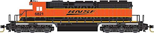 Micro-Trains MTL Z-Scale EMD SD40-2 Diesel Locomotive BNSF (Swoosh Logo) #6821