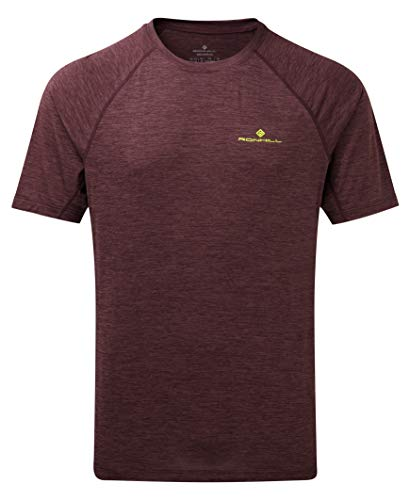 Ron Hill Mens Momentum Wicking Short Sleeve Running T Shirt