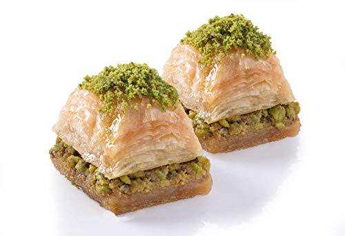 Karakoy Gulluoglu - Trockenes Baklava mit Pistazie - türkisch traditionell (500)