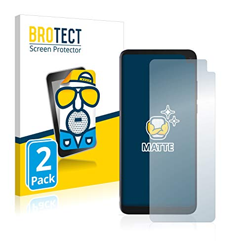 BROTECT 2X Entspiegelungs-Schutzfolie kompatibel mit Archos Oxygen 68XL Displayschutz-Folie Matt, Anti-Reflex, Anti-Fingerprint