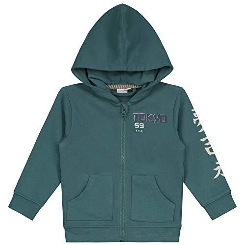 Prénatal Sudadera para bebé, color verde oscuro Dark Greenshade 62 cm