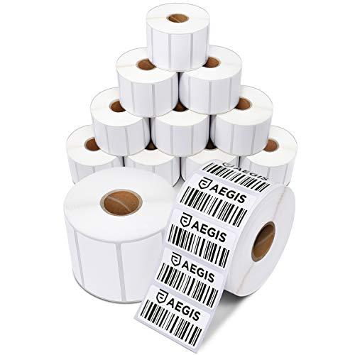 Papel Térmico Etiquetas  marca Aegis Premium Labels