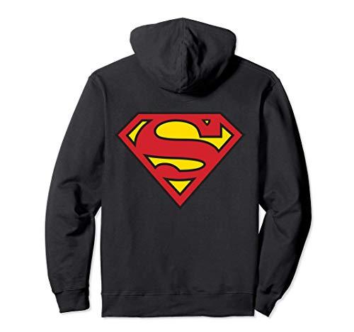 EE. UU. DC Superman + Logo Classic 01 Sudadera con Capucha