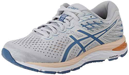 ASICS Damen Gel-Cumulus 21 Road Running Shoe, Polar Shade/Grey Floss, 42.5 EU