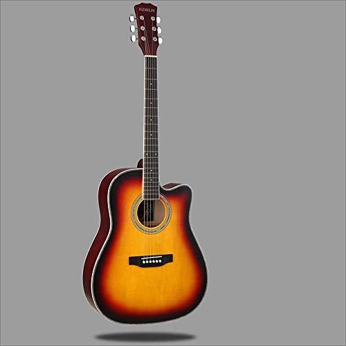 Aigliady 41 Pulgadas Principiante Estudiante Guitarra Práctica ...