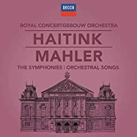 Haitink - Mahler The Symphonies & Orchestral songs [12CD+Blu-ray Audio]
