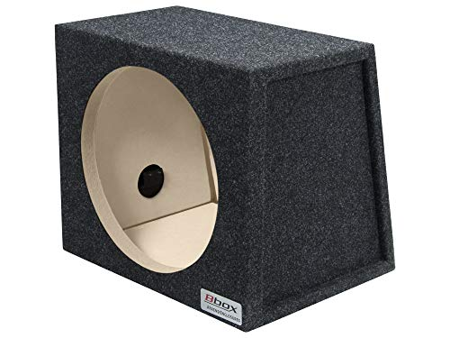 "Bbox E12S Pro-Series 12"" Single Sealed / Wedge Shape Subwoofer Enclosure"