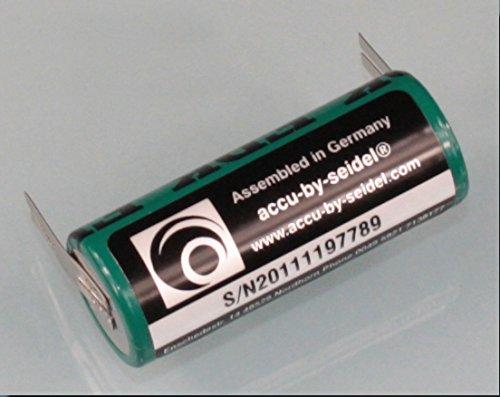Ersatz-Akku (OB27) für elektrische Zahnbürste geeignet für Braun Oral B Triumph 5000 Serie - KEIN ORIGINAL - -NiMH - Leistung: 2700mAh Höhe/ Ø: 50 / 17 mm - BITTE PRODUKTBESCHREIBUNG u. ABMESSSUNGEN BEACHTEN!