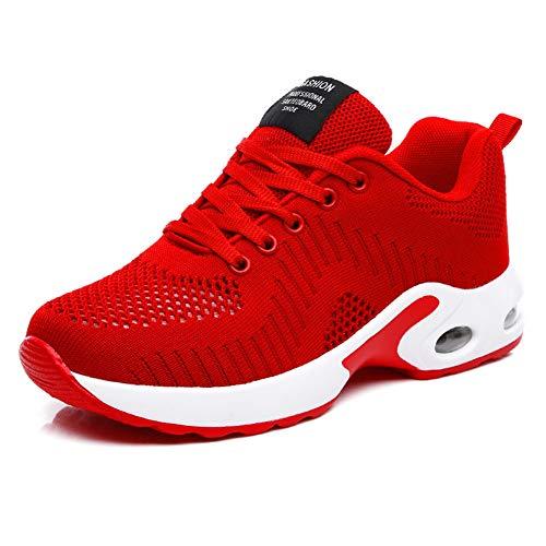 Luobaniu dames sportschoenen loopschoenen met luchtkussen gymschoenen sneakers trainer lichte Air schoenen