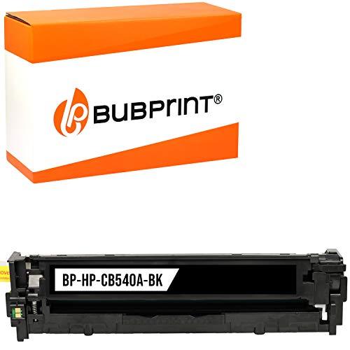Bubprint Toner kompatibel für HP CB540A 125A für Color Laserjet cm 1300 1312 NFI MFP CP1200 CP1210 CP1215 CP1217 CP1510 CP1514N CP1515N Schwarz