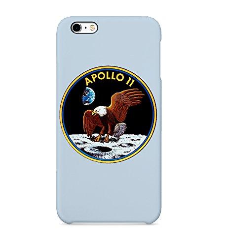 Appollo 11 NASA Neil Armstrong Mission Teléfono Carcasa de plástico rígido 3D Full-Print Carcasa de protección para iPhone 6 7 8 X Plus Samsung Galaxy Huawei Funda de teléfono móvil