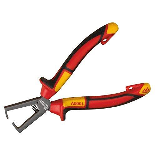 Milwaukee 932464573 VDE - Alicates pelacables (160 mm), color rojo