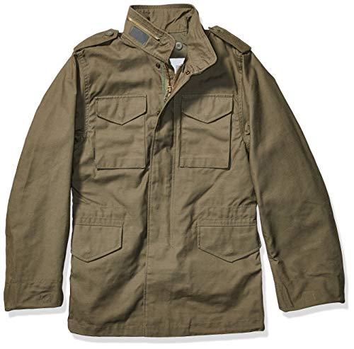 Alpha Industries Men's M-65 Field Coat (2XS, Olive)