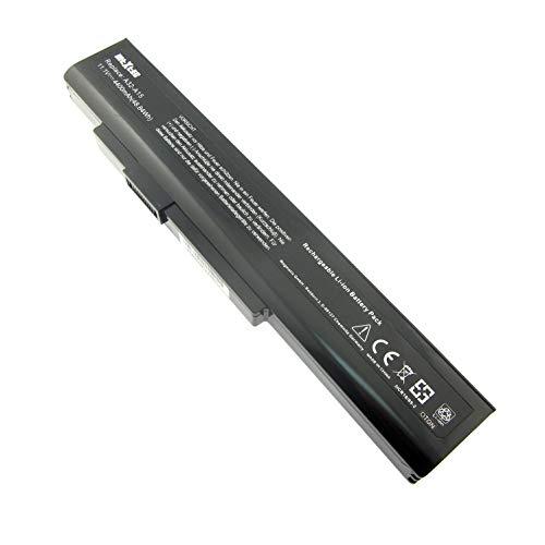 Akku, LiIon, 10.8V, 4400mAh, schwarz für Medion Akoya P6638 MD99170 ersetzt Herstellernummer: A32-A15, A41-A15, A42-A15