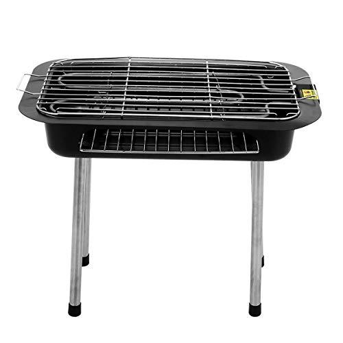 SISHUINIANHUA 2IN 1 Contrôle Non Stick Température Barbecue Électrique Teppanyaki Barbecue Plancha Table pour L'extérieur des Ménages