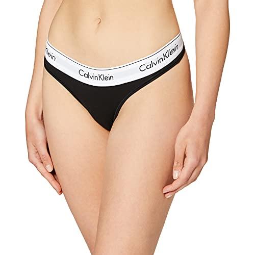 Calvin Klein Underwear, Braguitas para Mujer, Negro (BLACK 001), M