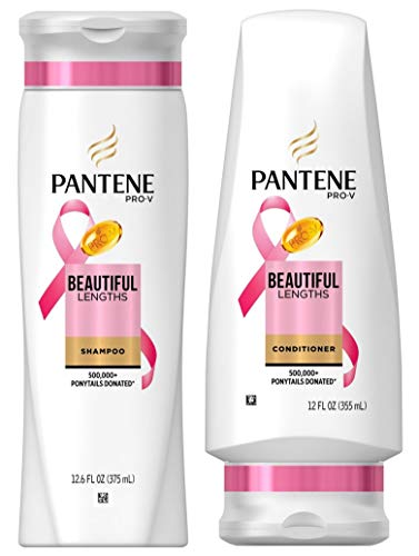 Pantene Pro-V Beautiful Lengths Strengthening, DUO set Shampoo + Conditioner, 12.6 Ounce, 1 each