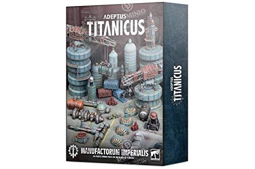 Games Workshop Adeptus Titanicus: Citivas Imperialis Industrial Scenery