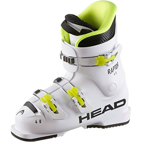 HEAD Kinder Raptor 40 Skischuhe, White, 220